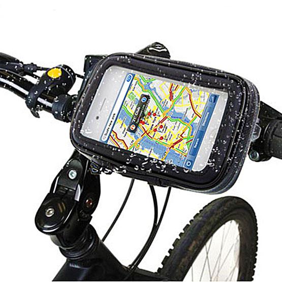 fahrrad motorrad smartphonetasche halterung wasserfest. Black Bedroom Furniture Sets. Home Design Ideas