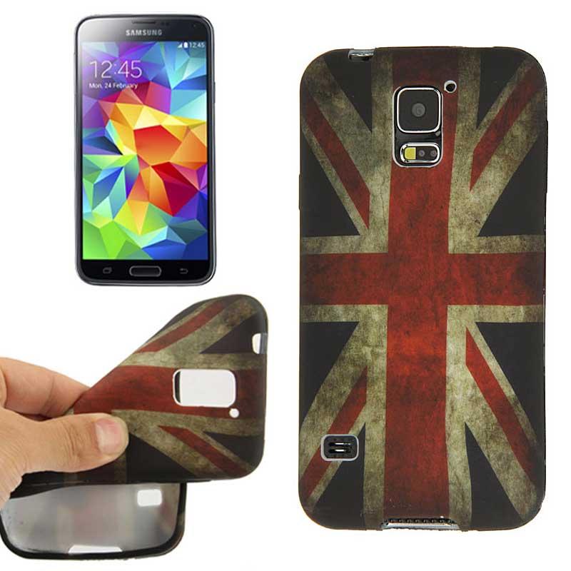 Fuer-Samsung-Galaxy-S5-TPU-Silikon-Case-Tasche-Bumper-Schutz-Huelle